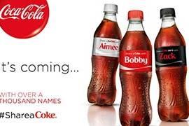 Share a coke - condividi una coca