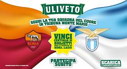 La Roma e la Lazio bevono ULIVETO