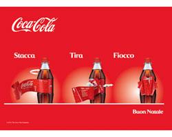 """COCA COLA: parte per Natale l'operazione """"FIOCCO MAGICO"""""""