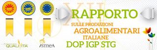 RAPPORTO ISMEA QUALIVITA Per Dop e Igp, l'export si conferma fattore di traino del comparto