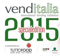 VENDITALIA 2015 SPECIAL EDITION, un intero padiglione, all'interno di Tuttofood, dedicato al vending