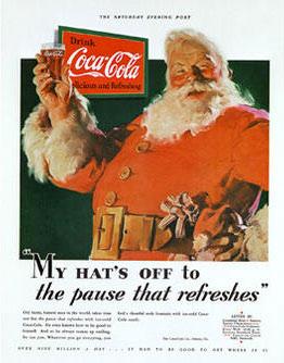 Babbo Natale Coca-cola Storia Babbo Natale Cola