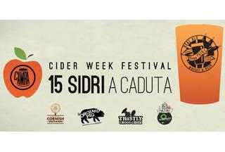 CIDER WEEK FESTIVAL al TreeFolk's: l'antica bevanda britannica sbarca ai piedi del Colosseo
