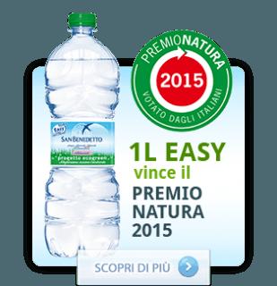 """1L EASY """"PROGETTO ECOGREEN"""" di San Benedetto si aggiudica il """"Premio natura 2015″"""