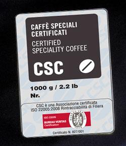 Caffè Speciali Certificati Mercato Riconosce Costanza