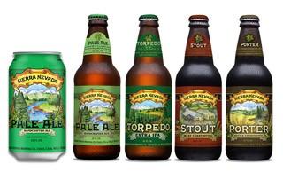 SIERRA NEVADA rinnova le etichette delle proprie birre in bottiglia