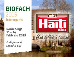 Biocaffè HAITI ROMA al consueto appuntamento con Biofach