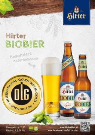 Bollino d'ORO DLG 2015 per HIRTER BIOBIER