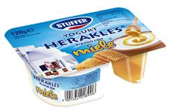 STUFFER propone I nuovi gustosi yogurt mix al miele, fiocchi di mais e praline al cioccolato