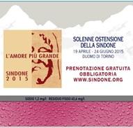 Acqua Valmora Pontevecchio Sponsorizzazioni Acqua Valmora Campagna Comunicazione Solenne Ostensione Sindone Torino
