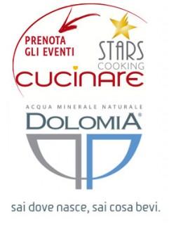 """CUCINARE 2015: DOLOMIA presenta """"L'acqua a tavola"""", un seminario di abbinamento gastronomico dell'acqua minerale"""