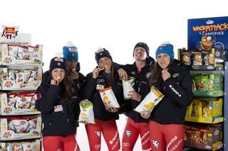 Chips San Carlo Snack Sponsorizzazioni Carlo Sponsor Progetto Futurfisi Valorizzazione Giovani Talenti Federazione Italiana Sport Invernali