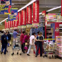 NIELSEN: vendite distribuzione moderna ancora in calo a gennaio 2015, soprattutto per il trend negativo degli ipermercati