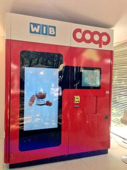 COOP QUI: il primo negozio intelligente completamente automatizzato sviluppato con tecnologia WIP