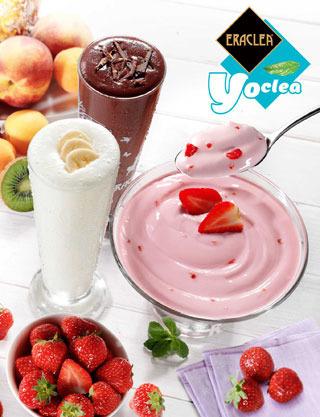 Eraclea Frappè Milk Shake Yogurt Crema Yoclea Vivere Leggerezza