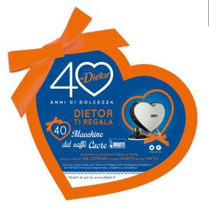 """DIETOR festeggia i primi """"40 anni di dolcezza"""" con una partnership con le macchine di caffè BIALETTI"""