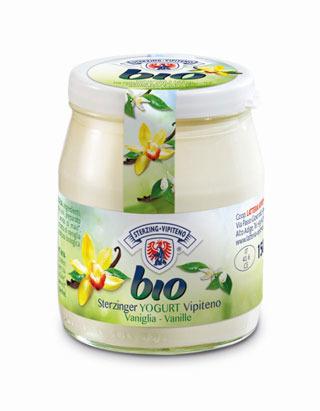 LATTERIA VIPITENO presenta gli yogurt bio in vasetti di vetro richiudibili