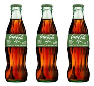 Coca-cola Stevia Coca Cola Life Dolcezza Ingredienti Origine Naturale