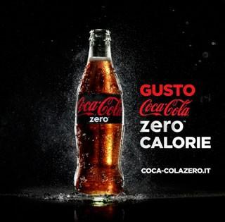 Parte la campagna pubblicitaria COCA-COLA ZERO: #BerePerCredere!