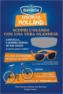 """""""Discover Holland"""": nuovo concorso a premi e iniziativa in store per BAVARIA HOLLAND'S Premium Beer"""