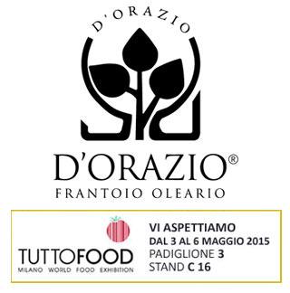 D'orazio Olio D'oliva Tuttofood Orazios Milano