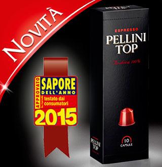 """PELLINI CAFFÈ conquista il titolo di caffè """"Sapore dell'Anno"""" 2015"""