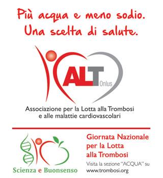 ACQUA BRACCA supporta la IV Giornata Nazionale per la lotta alla Trombosi con un milione di retroetichette