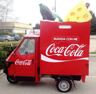 COKE&MEAL SAMPLING TOUR 2015: Coca-Cola invita a riscoprire la felicità del mangiare insieme