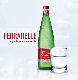 FERRARELLE SPA a TuttoFood con un portafoglio completo di acque minerali premium