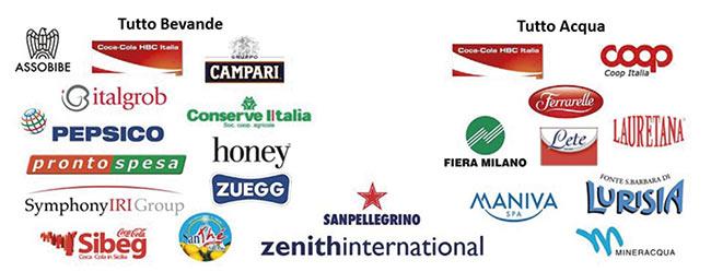 Aziende conferenza Tutto Bevande organizzata da Zenith International in occasione di Tuttofood 2015 - maggio fiera Milano