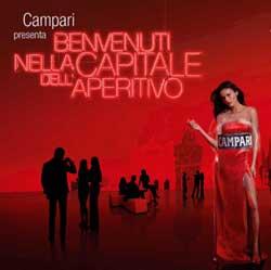 CAMPARI accende di rosso Milano in occasione dell'Expo 2015
