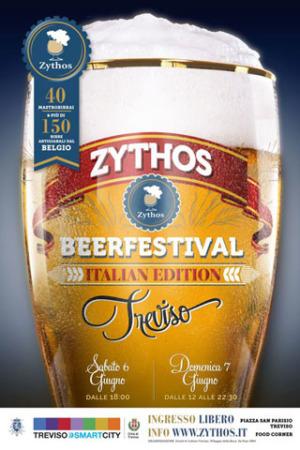 ZYTHOS BEER FESTIVAL arriva in Italia con una selezione dei migliori birrifici del Belgio