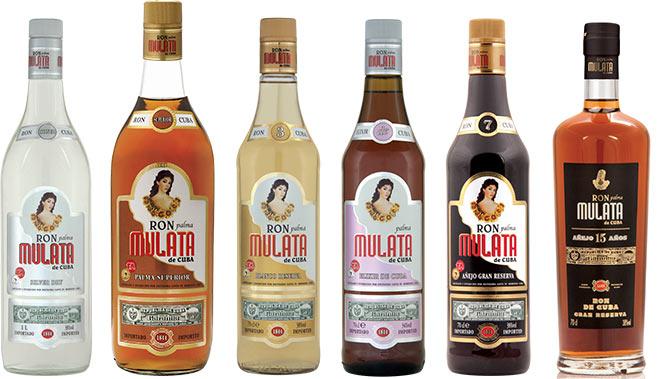 Gamma Rum autentico Cubano Ron Mulata distribuito da Mavi Drink