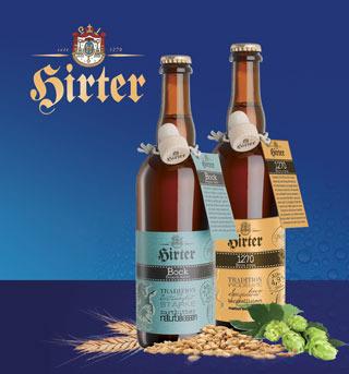 HIRTER presenta Hirter Bock e Hirter 1270er con una grafica in esclusiva per l'Italia