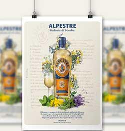 ONESTI GROUP: parte la nuova Campagna per ALPESTRE, il famoso distillato di 34 erbe