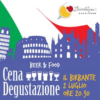 Nuova tappa del Bièrethèque Road Show di DIBEVIT IMPORT: Il 25 giugno arriva a Il Birbante di Cassano D'adda