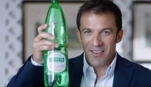 Parte la nuova campagna di Acqua Uliveto con Alessandro Del Piero