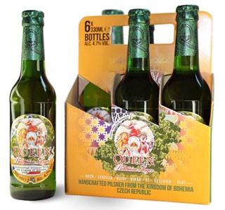 """Queen Lager, con la birra ceca si celebra il 40 anniversario di """"Bohemian Rhapsody"""""""