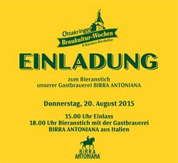 Birra Antoniana rappresenterà l'eccellenza tricolore al festival di cultura birraria di Vienna