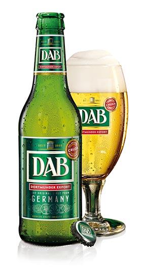 DAB Cruda Birra Bottiglia + Bicchiere