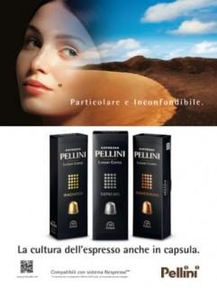 PELLINI CAFFÈ: investimento in comunicazione di un milione di euro per il 2015