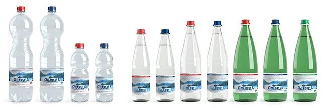 Chiarella restyling bottiglie 2015
