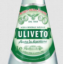 NUCERIA stampa le etichette per Uliveto con tecnologia uv su carte metallizzate dalle trame di estremo pregio