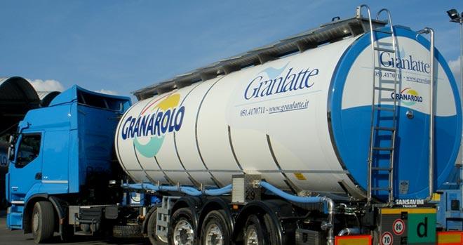 Granarolo Consorzio Granlatte latte autocisterna