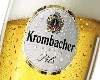 Affidato Creativo Campagna Pubblicitaria Krombacher Sviluppo Immagine London Birra Tedesca Germania Advertising