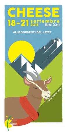 Invasione di formaggi dal 18 al 21 settembre alla manifestazione CHEESE DI BRA (CN)