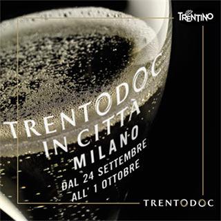 """""""Trentodoc in Città Milano"""" fino al 1 ottobre 2015"""