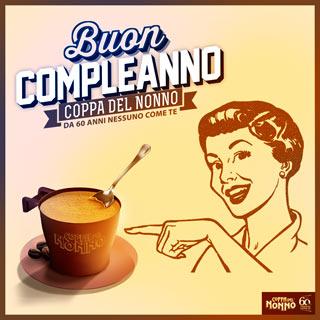 La mitica COPPA DEL NONNO: 60 anni di successi all'insegna di un gusto di caffè unico e inimitabile