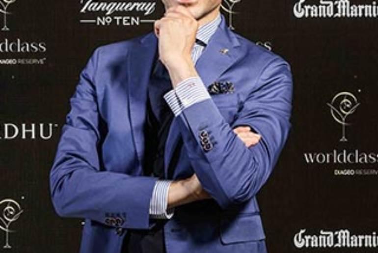Francesco Cione bartender Italiano selezionato tra i 55 finalisti Diaceo Reserve World Class