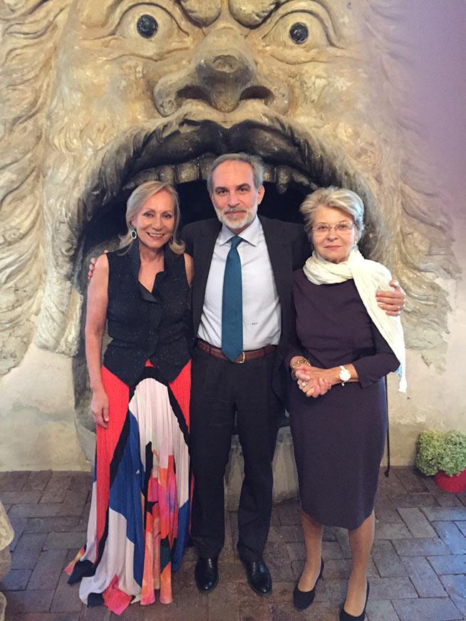 Marilisa Allegrini, Pier Luigi Vercesi, Sveva Casati Modignani